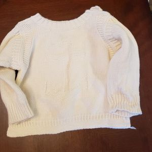 Baby Gap Nautical Cream Sweater 3-6 months